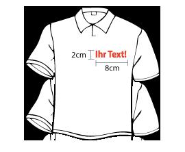Tshirt Initialen gestickt